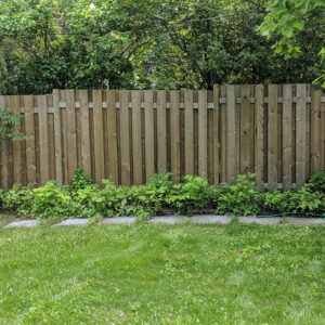 Old Sod Fence